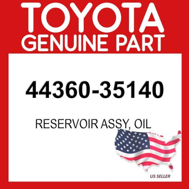 4436035140 Genuine Toyota RESERVOIR ASSY VANE PUMP OIL 44360-35140
