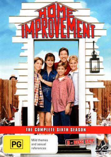 1 of 1 - Home Improvement: Season 6 (3 Discs)  - DVD - NEW Region 4