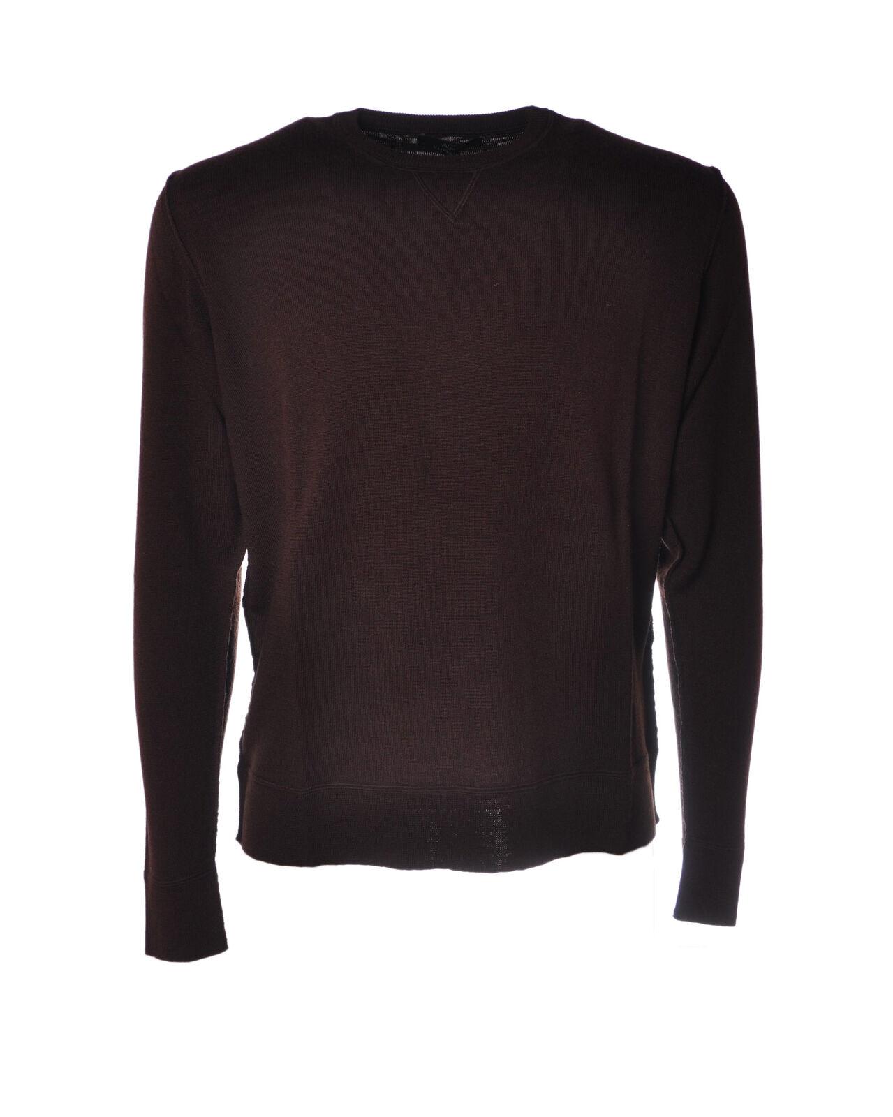 Alpha - Knitwear-schweißers - Man - braun - 4628906L190816