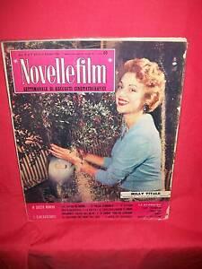 MILLY VITALE SOFIA LOREN ROCK HUDSON 1958 Novelle Film 575 CINEMA Magazine