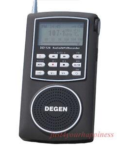 Weltempfaenger-Degen-DE1126-radio-FM-AM-MW-SW-MP3-player-4GB