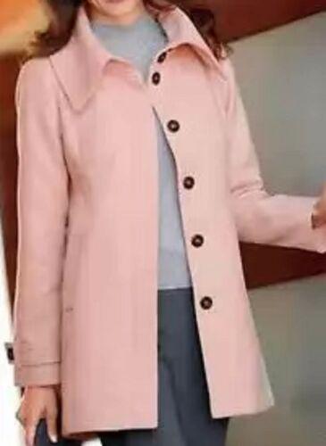 Pink Daxon 20 High Plus Neck eu 48 Coat Size Short fxvqO