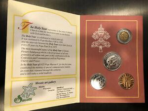 Vatican-Souvenir-Coin-Set-Anno-Santo-2000