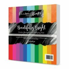 HUNKYDORY Perfect Backgrounds STAMPING PAD Splendid Stripes 135gsm PBSP106