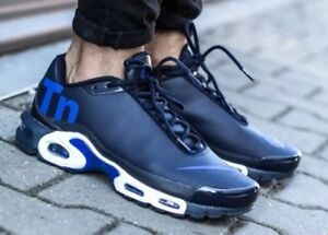 76da5d2846a Nike Air Max Plus TN Mercurial Navy Royal Blue White Running Men s ...