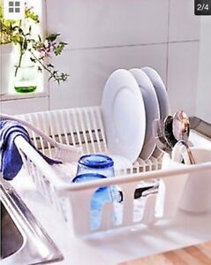 Image Is Loading Ikea Flundra Dish Drainer Plate Cutlery Holder Rack