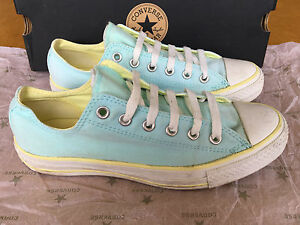 CONVERSE ALL STAR SNEAKERS SCARPA DONNA AZZURRO PERFETTE tg. 7 uk 40 40.5 ita