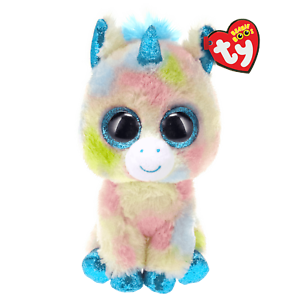 TY BEANIE BABIES BOOS BLITZ BLUE UNICORN PLUSH SOFT TOY NEW WITH TAGS