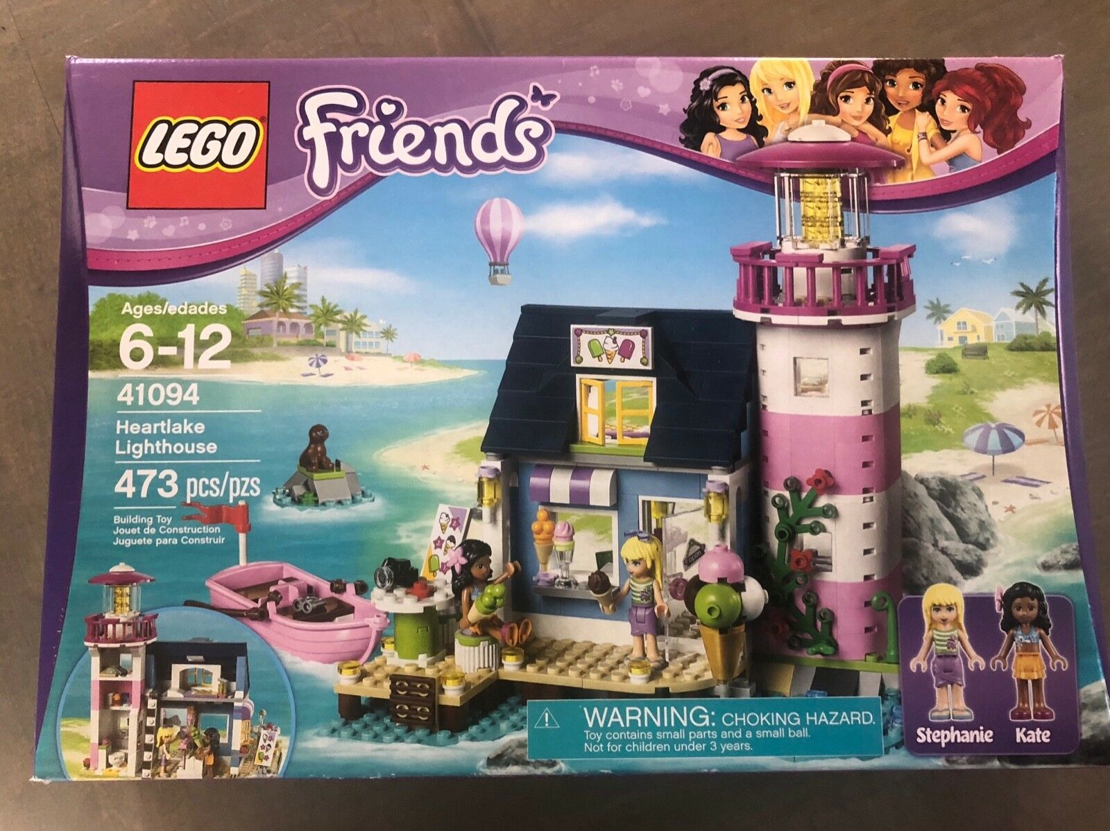 NEW LEGO Friends Heartlake Lighthouse, Factory Sealed NIB, RETIRED