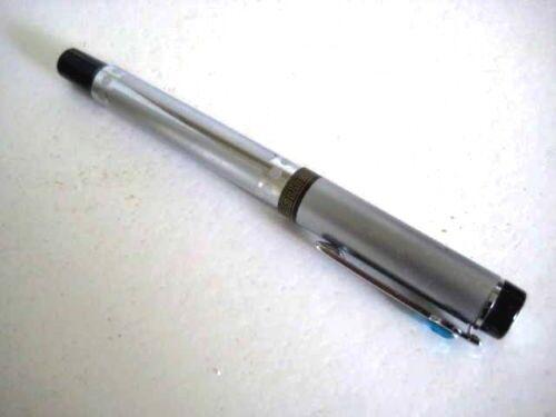 Modern Designed Silvery Colour Metal Fountain Pen KC169
