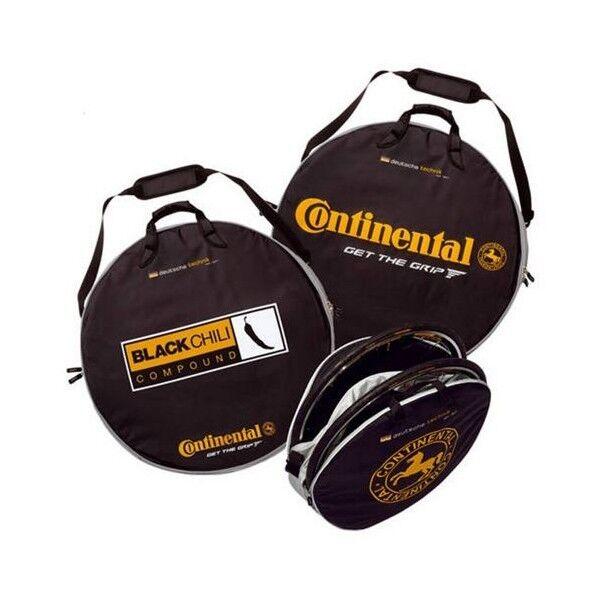 Bolsa-funda doble para ruedas de bicicleta . Continental