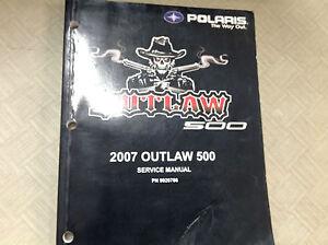 2007 polaris outlaw 500 workshop shop repair workshop service manual rh ebay com polaris outlaw 500 service manual pdf 2008 Polaris Outlaw 450 MXR