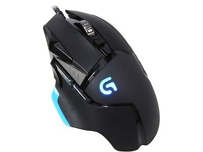 Logitech G502 Proteus Core Tunable Gaming Mouse with Fully Customizable Surface,