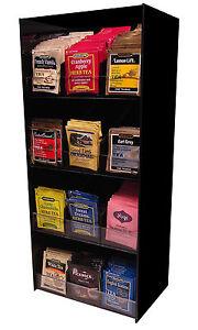 coffee sugar tea rack dispense office display holder organizer