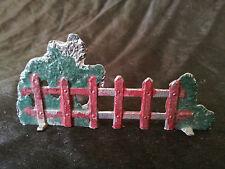 Barrière en plomb CBG Mignot ? vintage ferme soldat figurine fence cloture