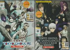 Anime DVD English Dubbed Tokyo Ghoul Re Vol 1 -12 End Gift for sale