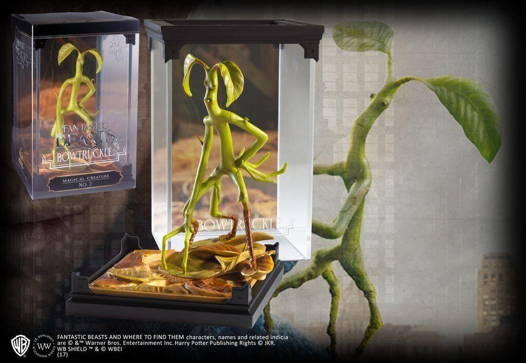 Fantastic Beasts - - - Harry Potter Magical Creatures - Bowtruckle - Statue - New 2ef