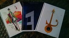 PRINCE PAISLEY PARK Tour Books All 3- 2017 HARDCOVER BOOKs Brand New. Sealed.