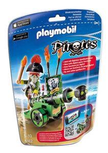 PLAYMOBIL Pirates - Grüne App-Kanone mit Piratenkapitän - Playmobil 6162 - NEU - Salach, Deutschland - PLAYMOBIL Pirates - Grüne App-Kanone mit Piratenkapitän - Playmobil 6162 - NEU - Salach, Deutschland