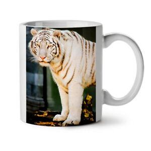 Wild White Tiger Animal NEW White Tea Coffee Mug 11 oz | Wellcoda
