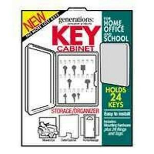 NEW-HY-KO-KO302-PLASTIC-24-KEY-LOCKABLE-STORAGE-CABINET-HOLDER