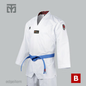 MOOTO MTX S2 Basic Uniform Tae Kwon Do TKD Taekwondo WTF Dan Dobok