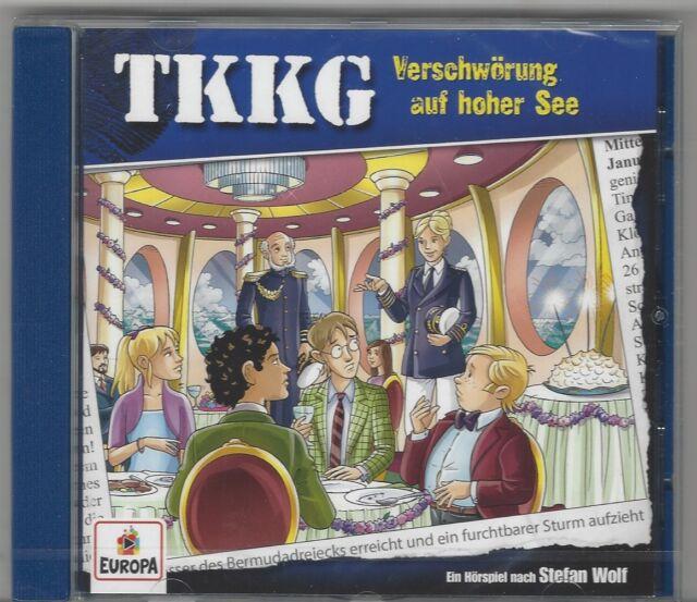 TKKG CD FOLGE 204 VERSCHWÖRUNG AUF HOHER SEE NEU + OVP
