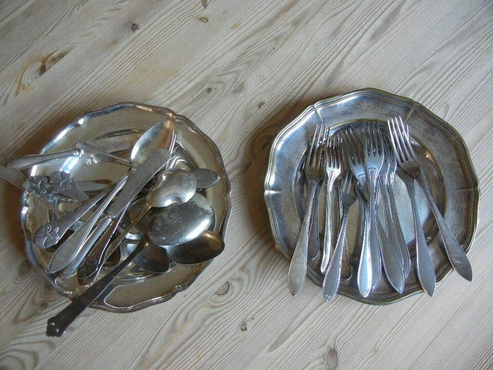 Rustfrit stål, RETRO - gaffel / gafler med lange tænder