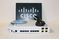 Cisco  Catalyst 2960 (WS-C2960CG-8TC-L) 8-Ports-Ports Rack-Mountable Switch