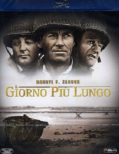 IL GIORNO PIU' LUNGO - FILM IN BIANCO E NERO (BLU-RAY) NUOVO, ITALIANO