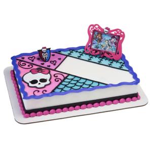 Terrific Decopac Monster High Cake Topper Decoration Nip Ebay Personalised Birthday Cards Beptaeletsinfo