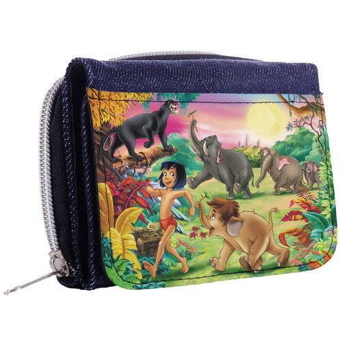 The Jungle Book Denim Tri-Fold Half Wallet w// ID Window p8/_01 w2024