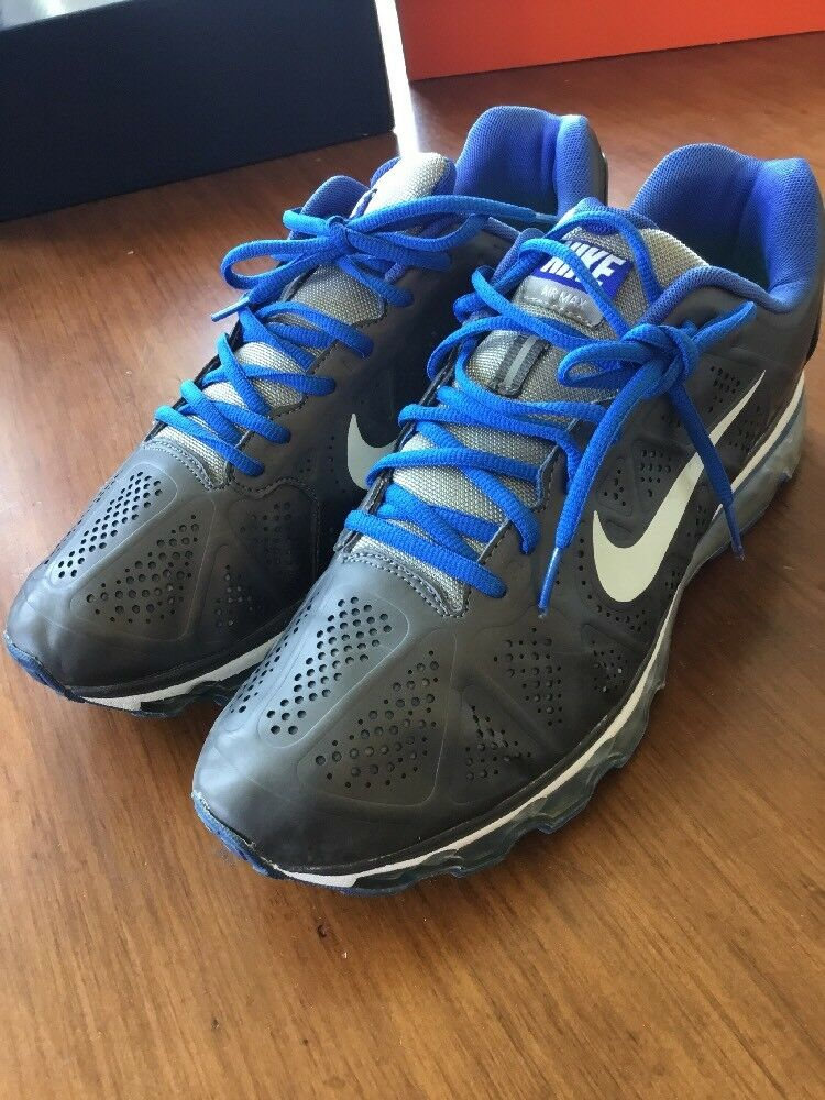 Nike Air Max 2011 Shoes Mens Size Leather 12 Used Leather Size 456325 104 d4786c