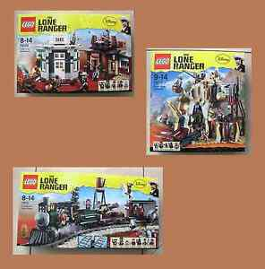 Lego The Lone Ranger Set: 79109 79110 79111 Semblable à emerald express