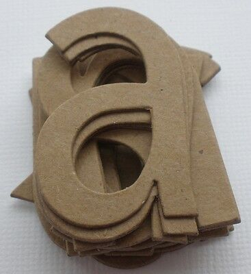 """2 1//4/"""" SIMPLE FONT 26 Pc Customized Alphabet Letters Chipboard Die Cuts 2/"""""""