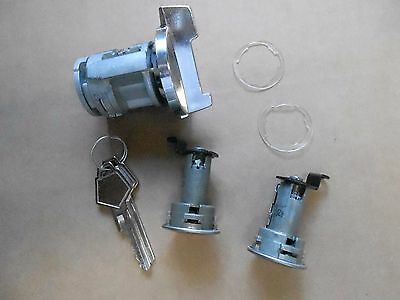 Mopar 70 71 E-Body Challenger Cuda Barracuda Ignition Door Lock Set NEW