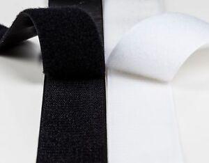 Klettband zum Aufnähen & selbstklebend 10 16 20 25 30 40 50 100 125 mm Breit