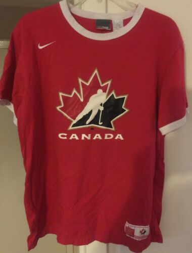 Canadian National Hockey Team Shirt NHL Canada Nik