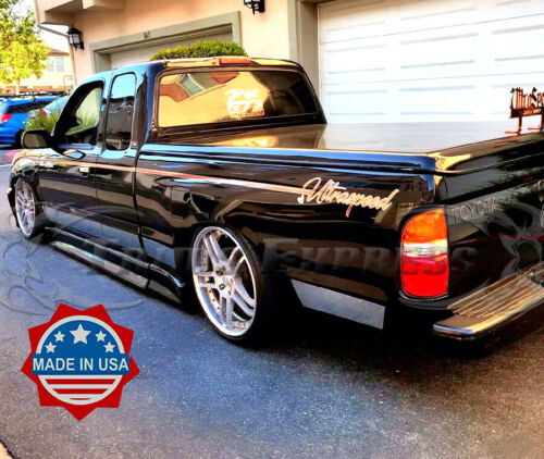 1995-2004 Toyota Tacoma Extended Cab N//Flare Short Bed Chrome Rocker Panel Trim