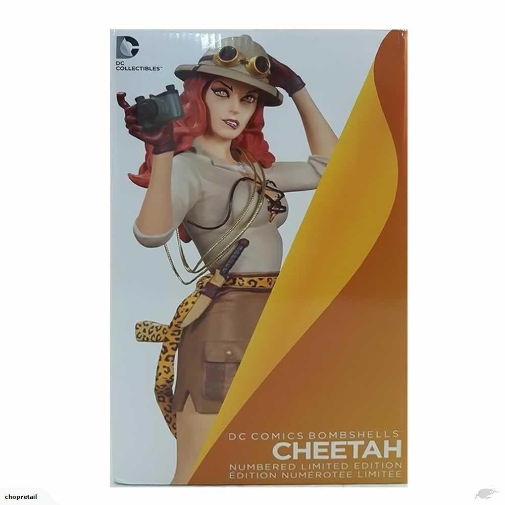 DC Comics las explosivas Cheetah (estatua de Mujer Maravilla)