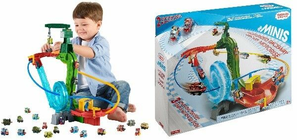 NEW  Fisher-Price Thomas the Train MINIS Motorized Raceway from Japan