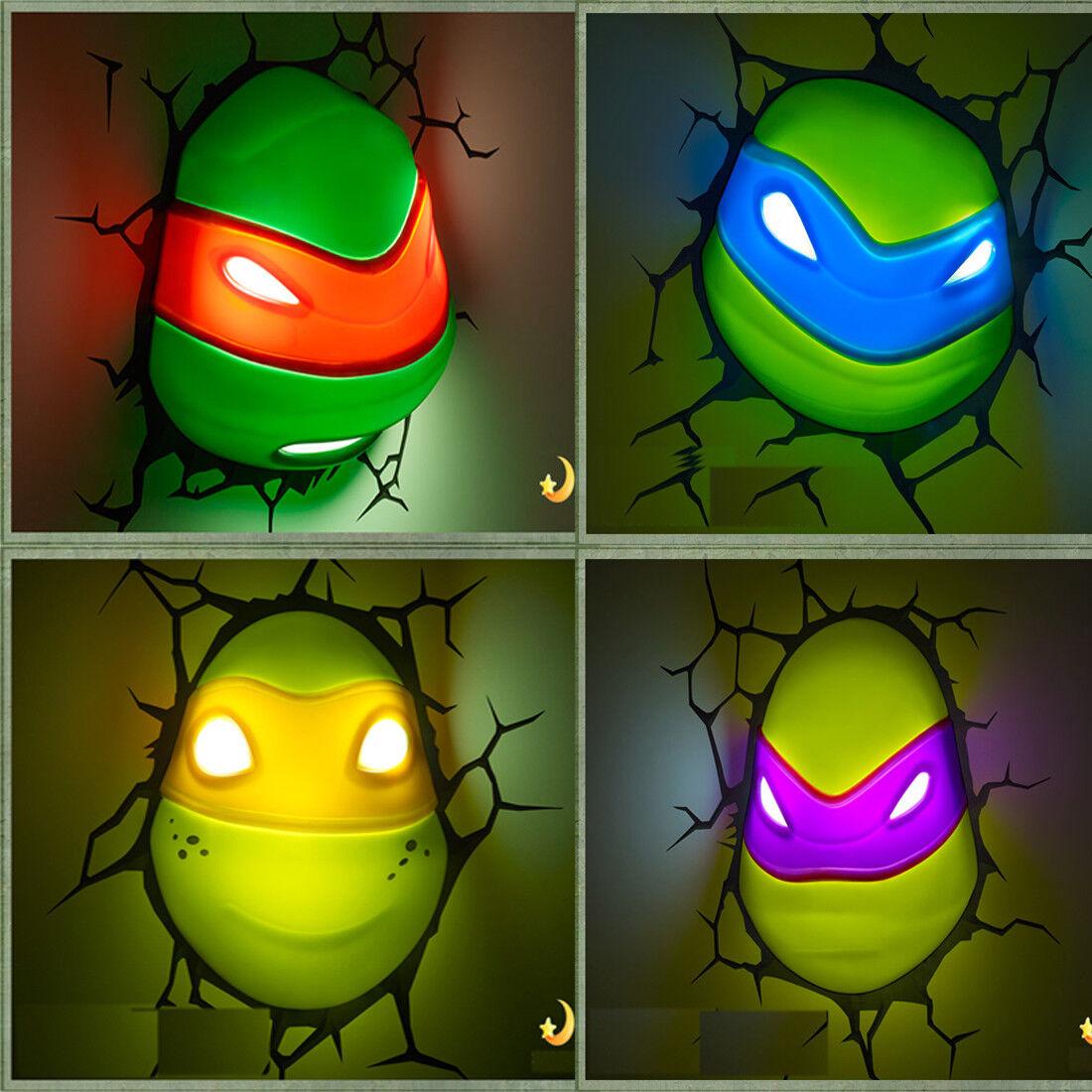 3D FX Wandleuchte Nachtlicht - Teenage Mutant Hero Turtles -Perfektes Geschenk | Angemessener Preis