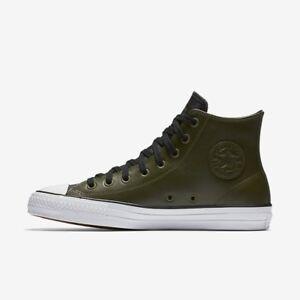48380d794549 Converse CONS CTAS Pro High Top Olive Skate Shoes 155487C-342 13