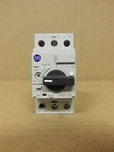Allen bradley overload relay motor protection 140m c2e c10 for Allen bradley motor overload