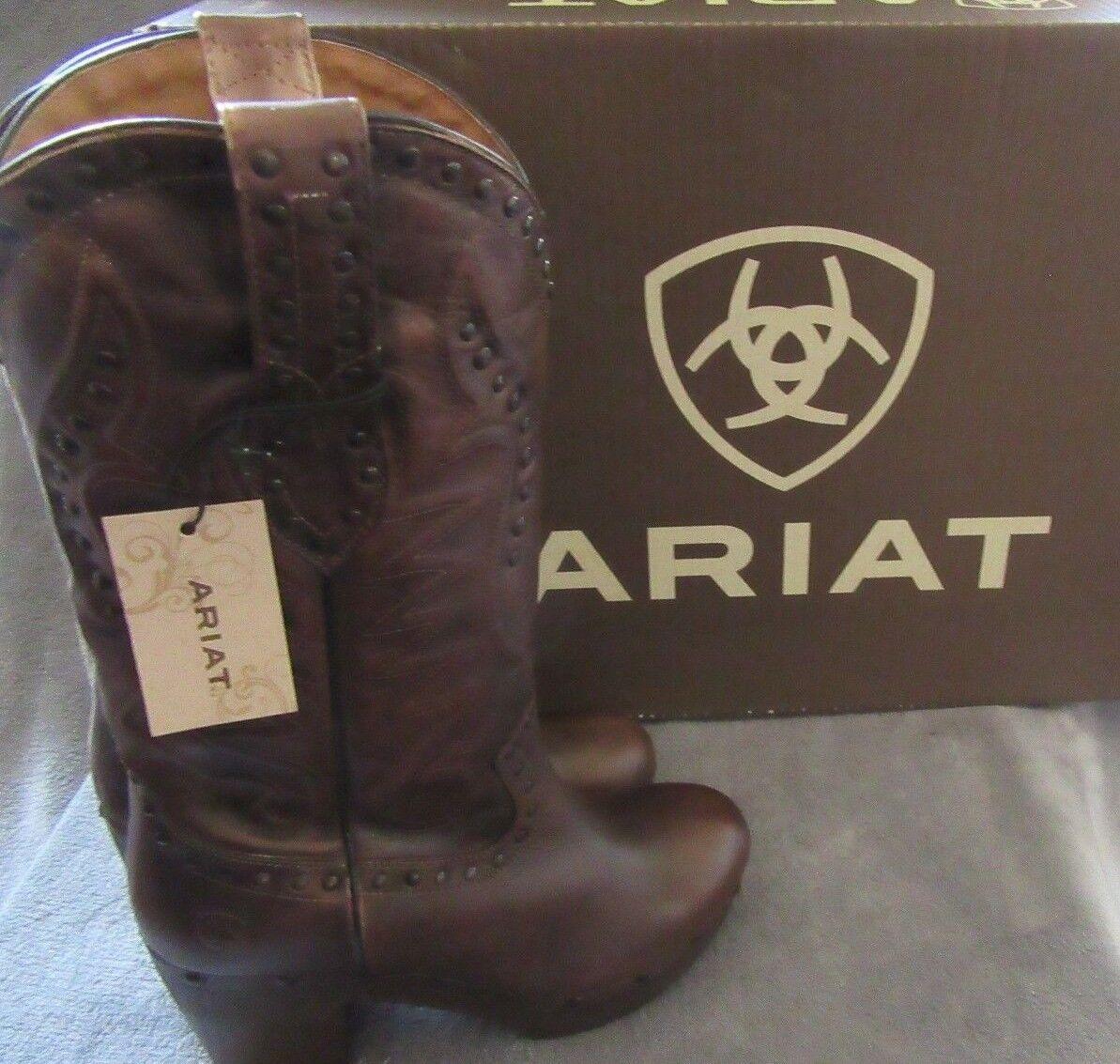 grandi prezzi scontati ARIAT 10021662 10021662 10021662 Chattanooga Bite the Dust Leather stivali scarpe US 9 M EUR 40 NWB  Sconto del 70%
