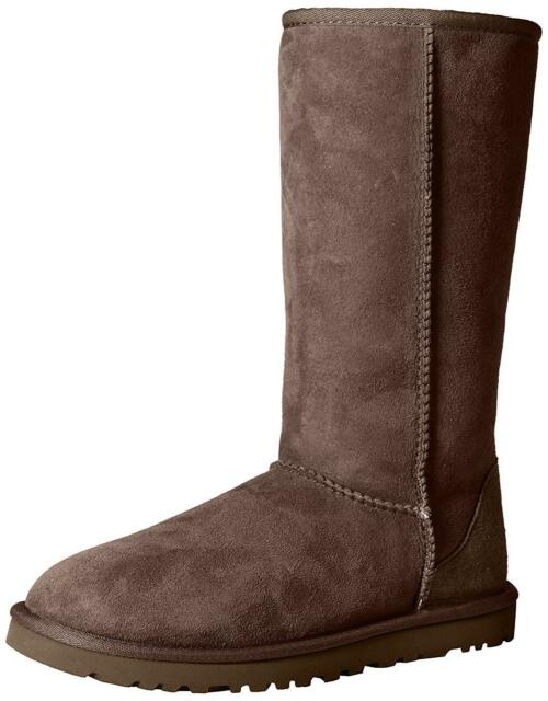 422bfe8fc8d Womens UGG Australia Classic Tall BOOTS 5815 Chocolate 9