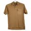 thumbnail 1 - Orvis Performance Golf Fishing Cotton Pocket Short Sleeve Polo Shirt Camel Tan M
