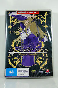 Le-Chevalier-D-039-eon-Collection-Fatpack-Region4-DVD-BRAND-NEW