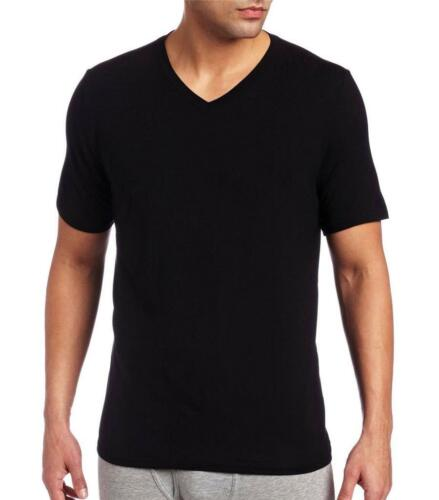 3 Pack Cotton Classic V-neck T-shirt Hugo Boss Black Men M Tee | eBay