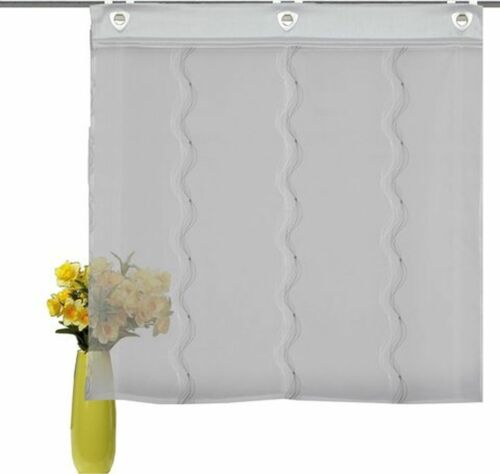 1 Stück -548554-  Einfache Montage mit Raffrollo Home Wohnideen Farbe grau